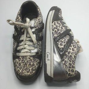 Coach Leopard Print Nova Sneakers